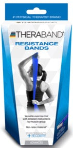 TheraBand Exercisers Non-Latex Resistance Band (Advanced Set)