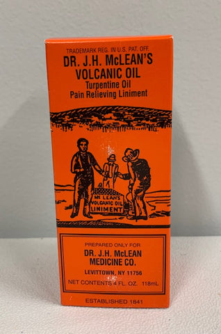 Dr. J.H. McLean's Volcanic Oil, Pain Relieving Liniment, 4 oz.