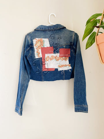 The Serena Vintage Jean Jacket