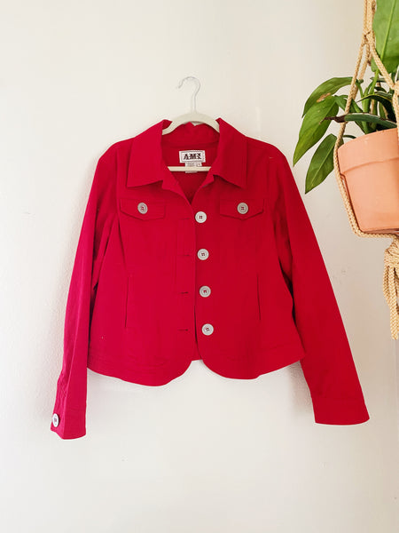 The Muse Vintage Red Jacket