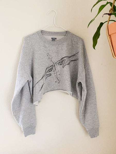 The Sanctuary Cropped Sweatshirt