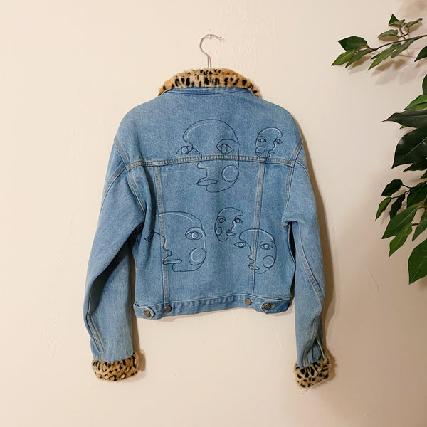The Bubble Vintage Denim Jacket