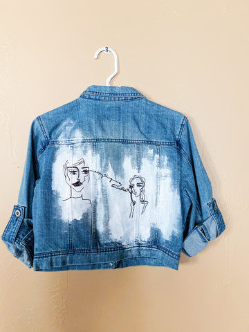 Mary Jane Jean Jacket