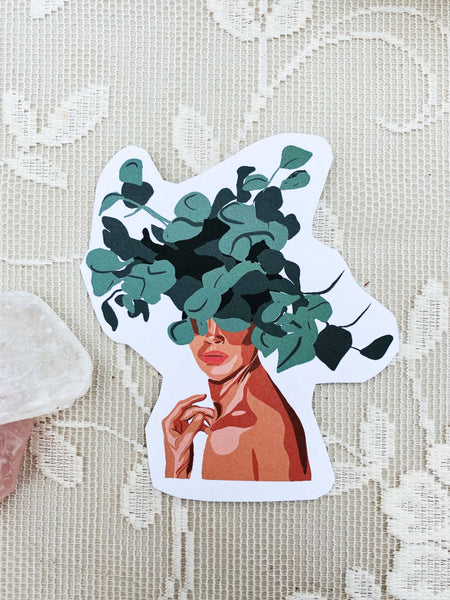 The Gaea Goddess Sticker