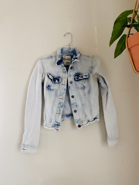 Be Ok With Being Vintage Jean Jacket
