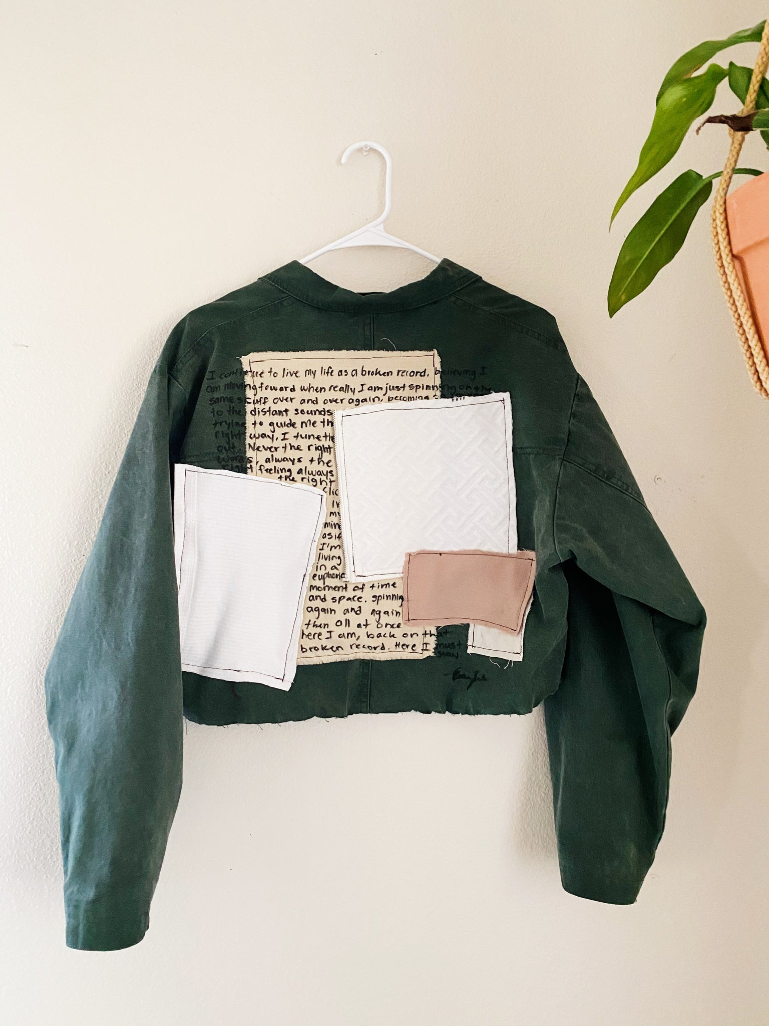 The Post-It Note Vintage Jacket