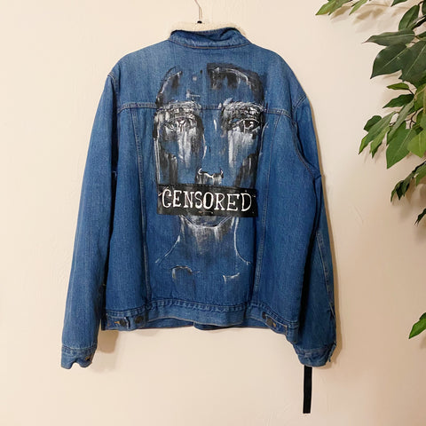 The Censored Vintage Denim Jacket