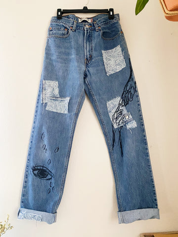 The Lotus Vintage Denim Jeans