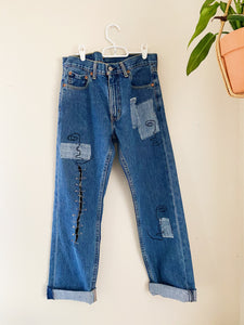 The Cattywampus Jeans
