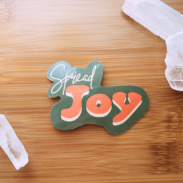 Spread Joy Sticker