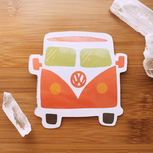Groovy Bus Sticker