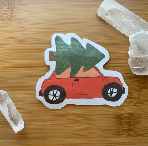 Holiday Buggy Sticker