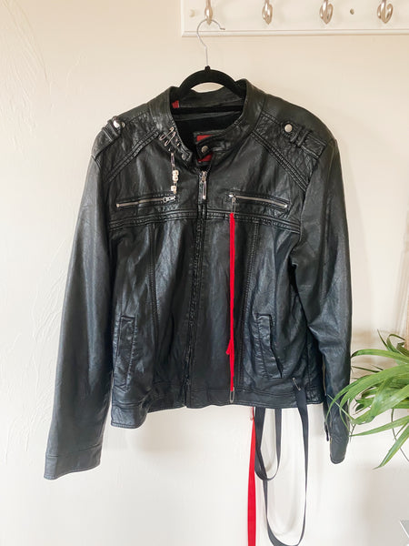 The Astral Vintage Leather Jacket
