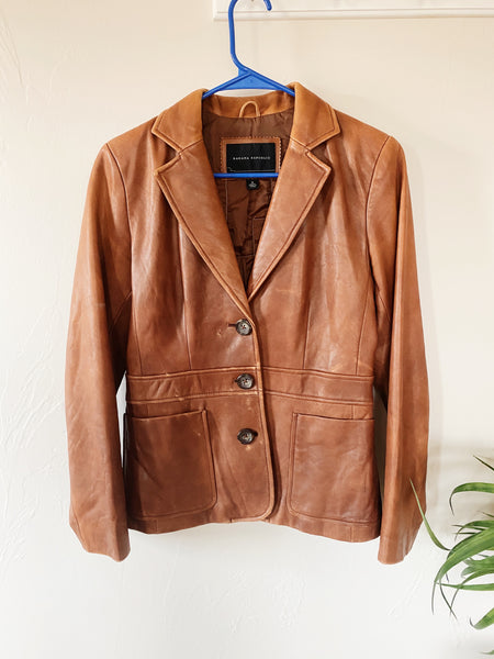 The Frusil Vintage Leather Jacket
