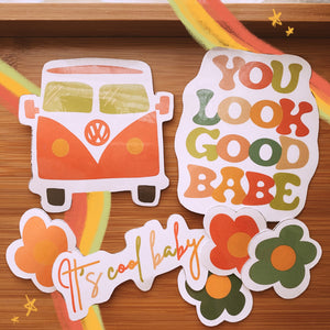 The Groovy Babe Sticker Collection