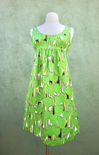 Load image into Gallery viewer, Michael By Michael Green Silk Sleeveless Dress