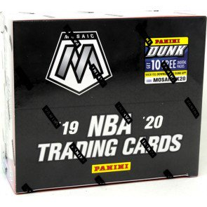 2019/20 Panini Mosaic Basketball Fast Break Box