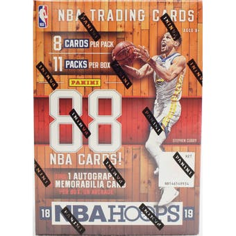 2018/19 Panini NBA Hoops Blaster Box