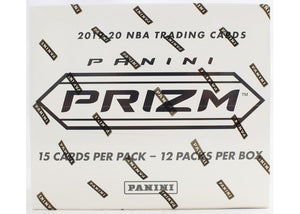 2019-20 Panini Prizm Basketball Multi-Pack Box Cello