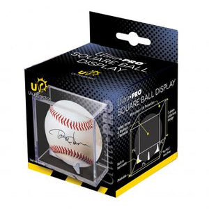 Baseball Clear Square UV Holder