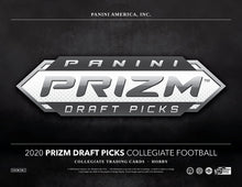 Load image into Gallery viewer, 2020 Panini Prizm Collegiate Draft Picks Football Hobby Box
