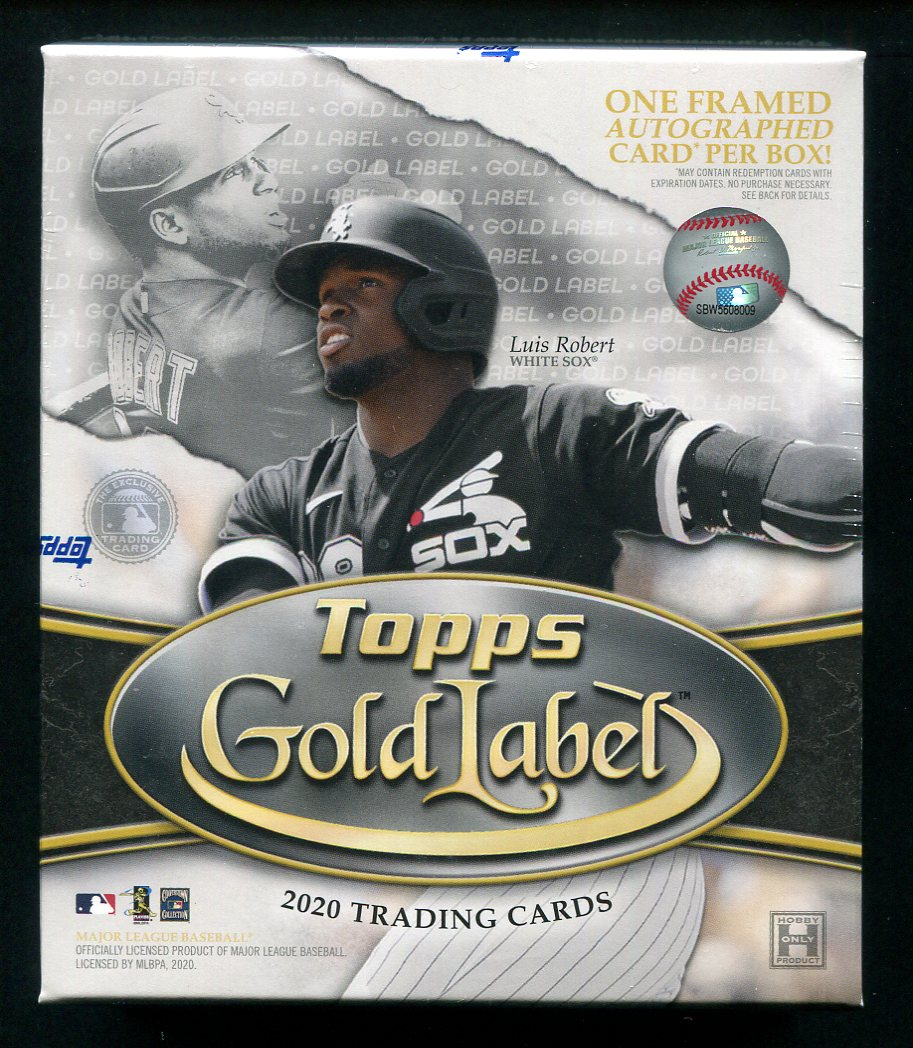 2020 Topps Gold Label Baseball Hobby Box