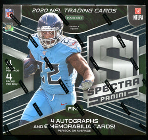 2020 Panini Spectra Football PACK DRAFT #3