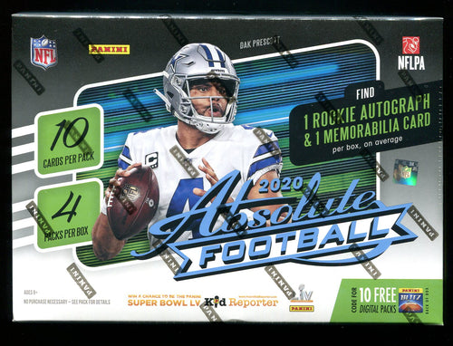 2020 Absolute Football Mega Box