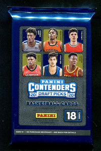 2020/21 Panini Contenders Draft Picks Basketball Hobby PACK