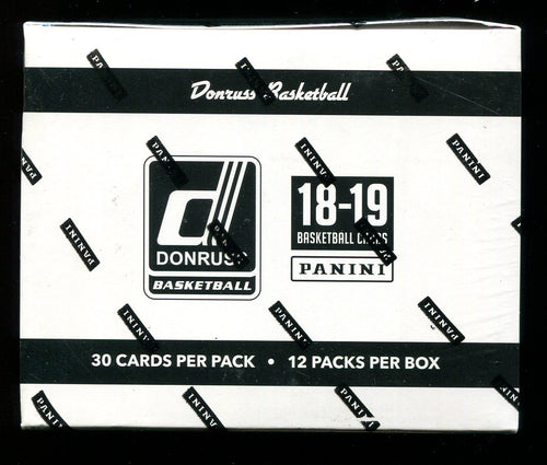 2018/19 Panini Donruss Basketball Fat Pack Cello Box