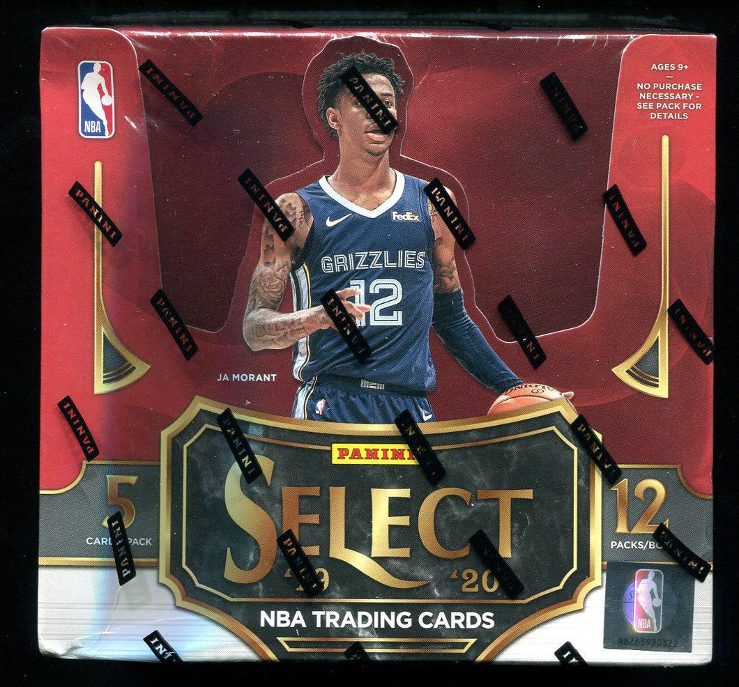 2019/20 Panini Select Basketball Tmall Edition Box