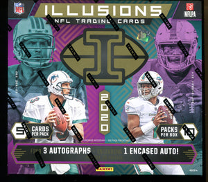 2020 Panini Illusions Football Hobby Box
