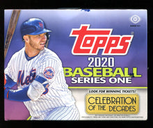 Load image into Gallery viewer, 2020 Topps Series 1 Baseball HTA Hobby Jumbo Box