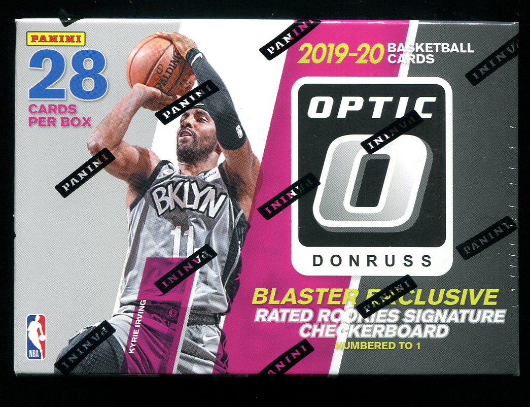 2019/20 Panini Donruss Optic Basketball Blaster Box