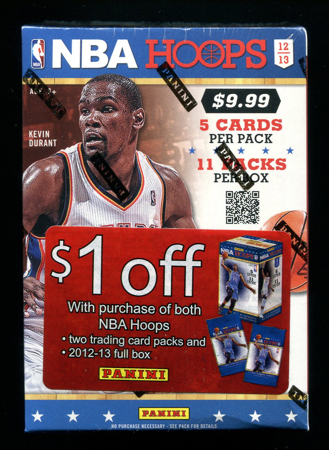 2012/13 Panini NBA Hoops Basketball Blaster Box