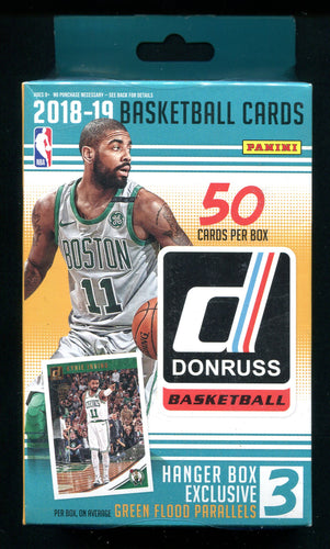2018/19 Panini Donruss Basketball Hanger Pack Box