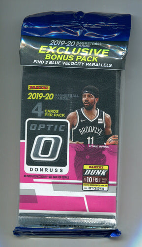 2019/20 Panini Donruss Optic Basketball Multi-Pack Cello