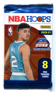 2020/21 Panini NBA Hoops Basketball Hobby PACK
