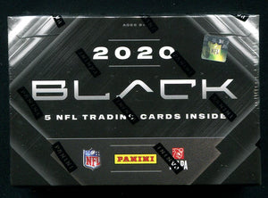 2020 Panini Black Football Hobby Box