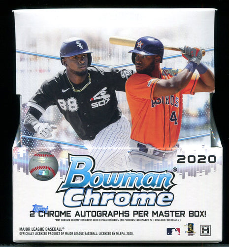 2020 Bowman Chrome Baseball Hobby Box