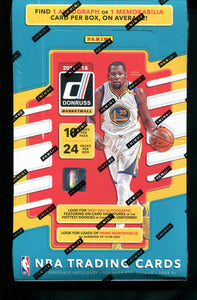 2017/18 Panini Donruss Basketball Hobby Box