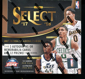 2017/18 Panini Select Basketball Hobby Box
