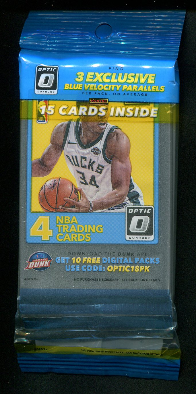 2017/18 Panini Donruss Optic Basketball Cello Pack