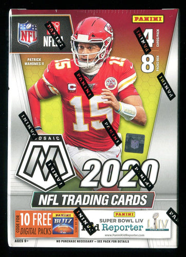 2020 Mosaic Football Blaster Box