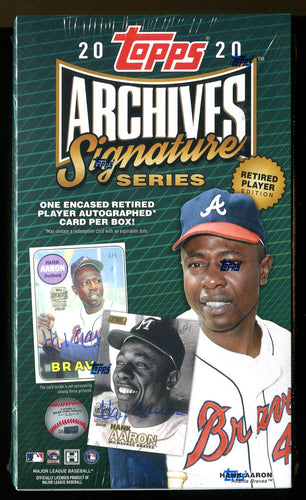 2020 Topps Archives Signature Series - Retired Edition