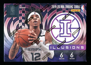 2019/20 Panini Illusions Basketball Blaster Box