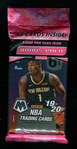2019-20 Prizm Mosaic Basketball Cello Pack
