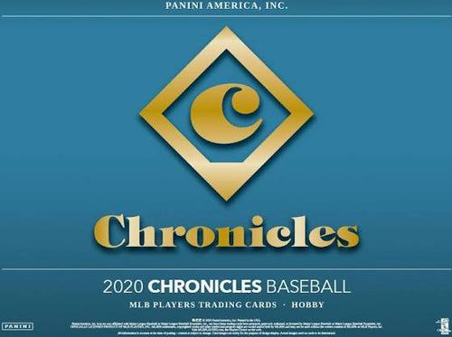2020 Panini Chronicles Baseball Hobby Box