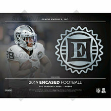Load image into Gallery viewer, 2019 Panini Encased Football Hobby Box