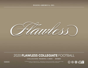 2020 Panini Flawless Collegiate Hobby Box - 1 briefcase